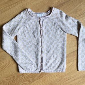 Girls' Starry Sweater